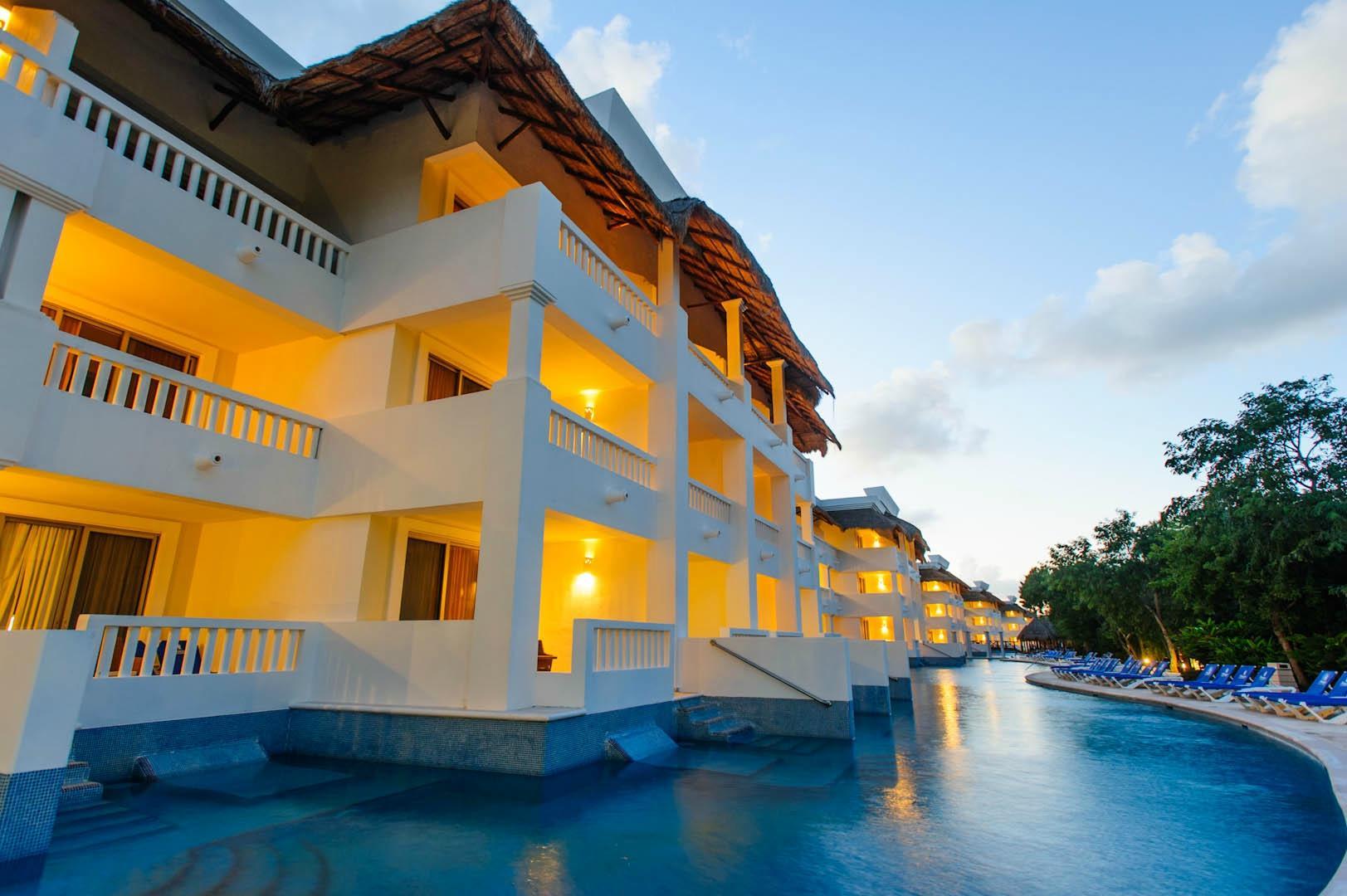 First holiday to Riviera Maya